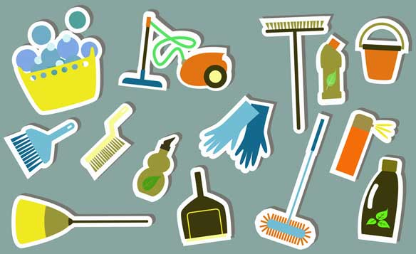 office cleaning duties list