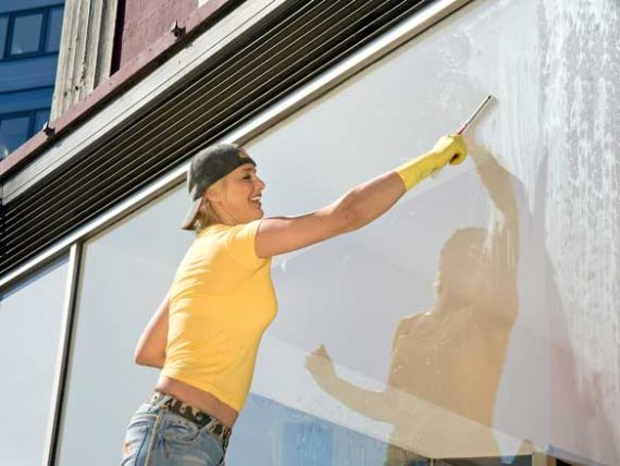 business window cleaning