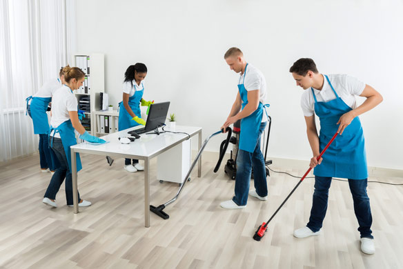 commercial office cleaning companies