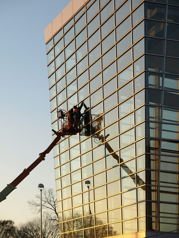high rise window cleaning company